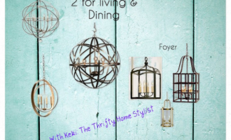 Globe Chandlier's For Dining Room