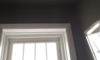 Powder Room Update // Painted Ceilings