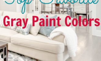 The Best in Gray Paint Colors