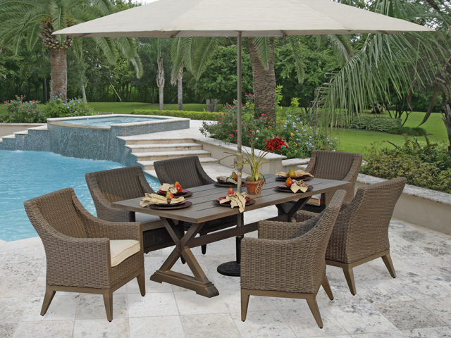 Outdoor Living Patio Furniture Updates Home with Keki