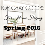 Best Home Staging Gray Paint Colors