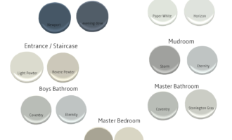 Modern American Colonial Paint Colors