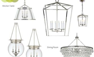 Modern Colonial Interior Light Fixtures