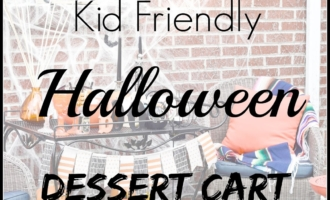 Kids Halloween Dessert Cart