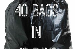 40 Trash Bag Challenge To De-clutter