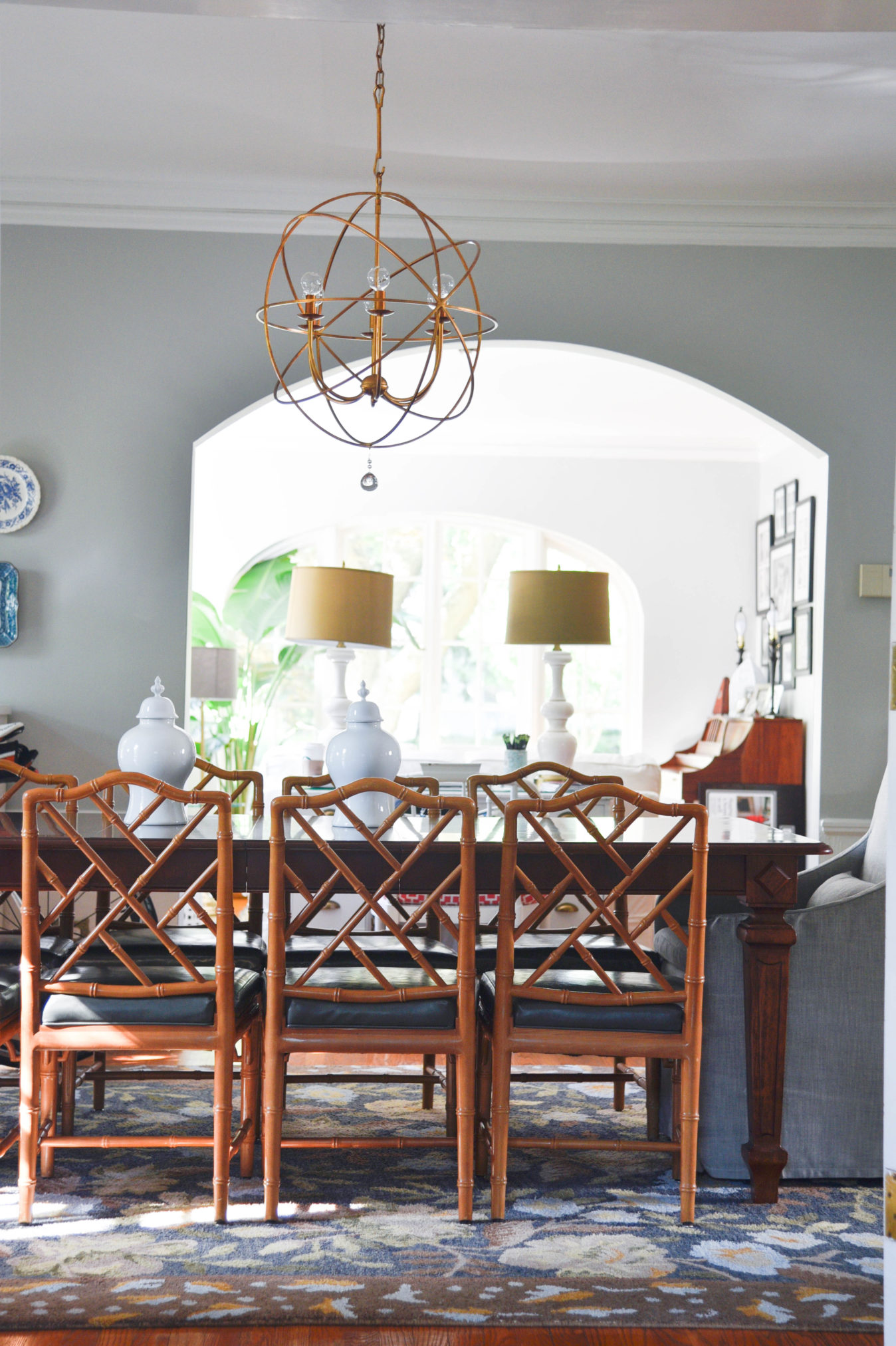 Home Bloggers Home Tour dining room styling tips www.homewithkeki.com