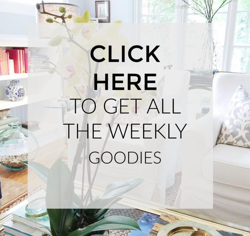 interior design blogger newsletter