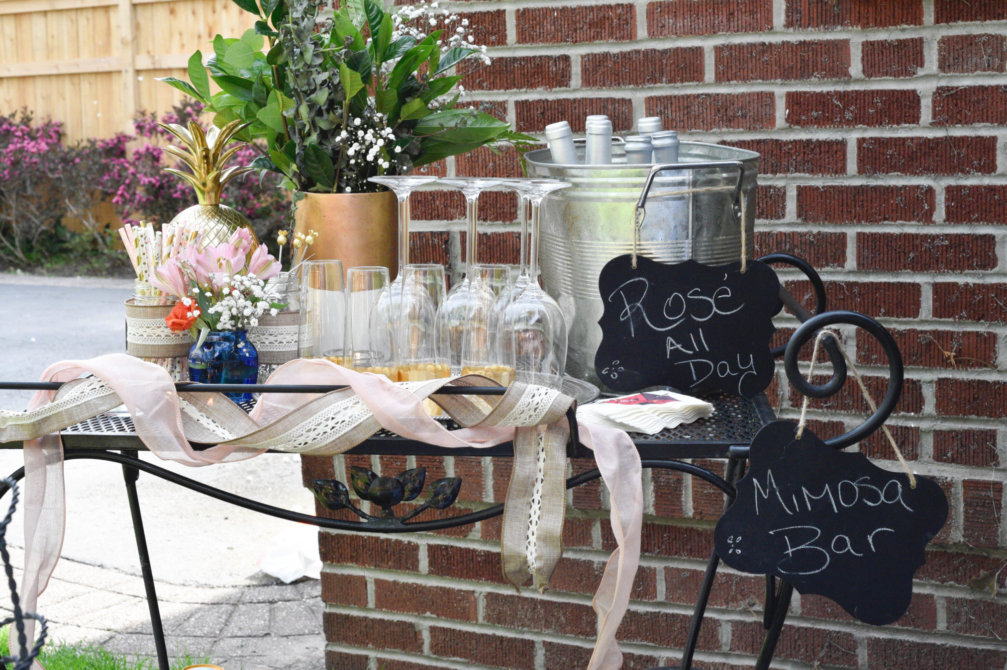 Hosting a ladies brunch or a vintage inspired party, here are tips on how to style a vintage inspired tablescape, see more at www.homewithkeki.com #vintage #tablescape #summerparties