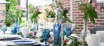 How To Style A Vintage Inspired Tablescape