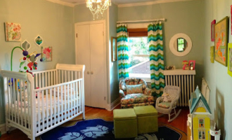 A Little Girls Nursery