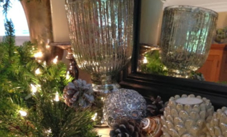 Using Pine Cones To Decorate For The Holidays