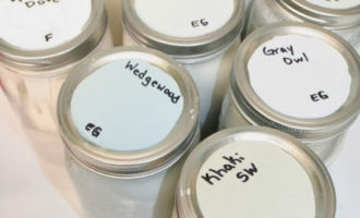 How to Store Leftover Paint Using Mason Jars