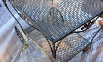 Outdoor Patio Serving Cart