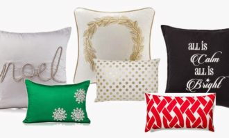 Must Have Monday // Holiday Throw Pillows