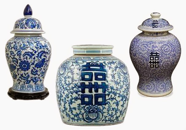 Must Have Monday Chinese Blue White Porcelain Ginger Jars
