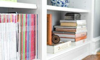 Styling Built-in Bookshelves