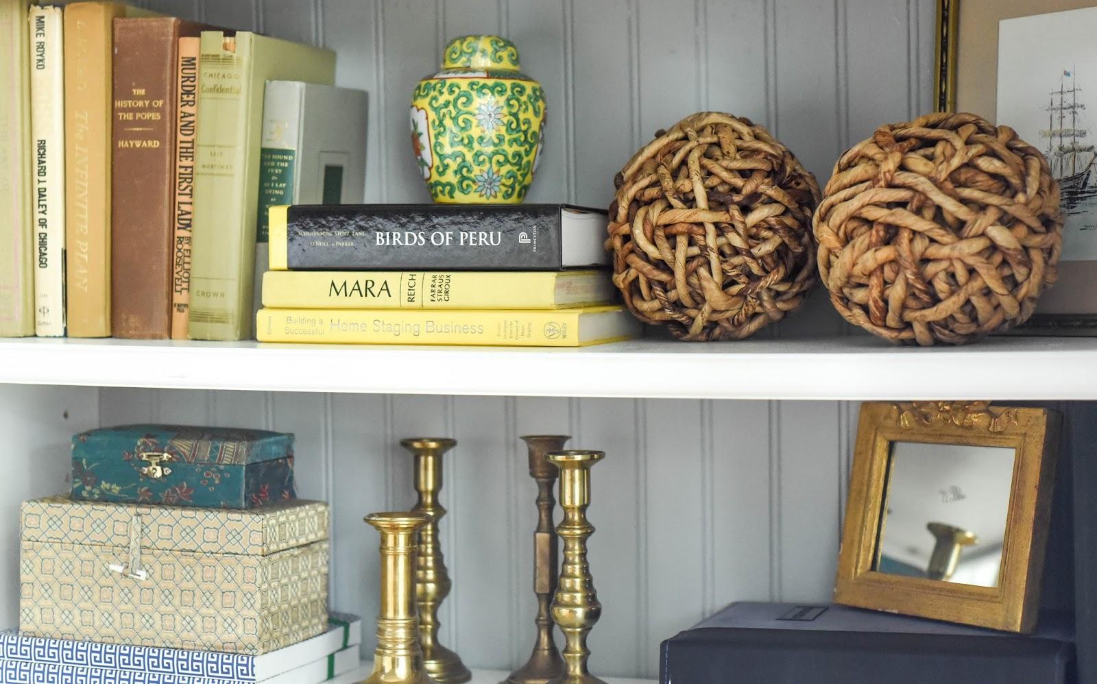 Styling Built-in Bookshelves - Home with Keki
