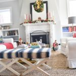 Decorating the Living Room for Christmas : Holiday Home Tour Part II