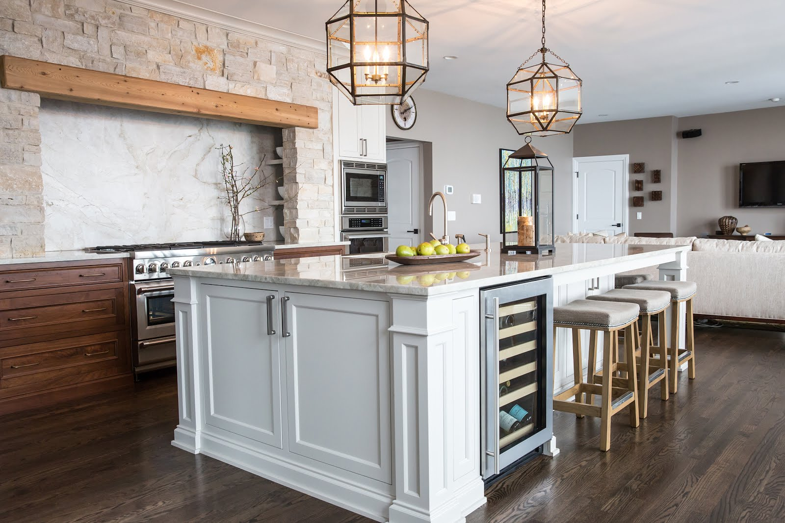Designer Kitchens Of The North Shore Home With Keki