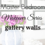 Master Bedroom Gallery Walls