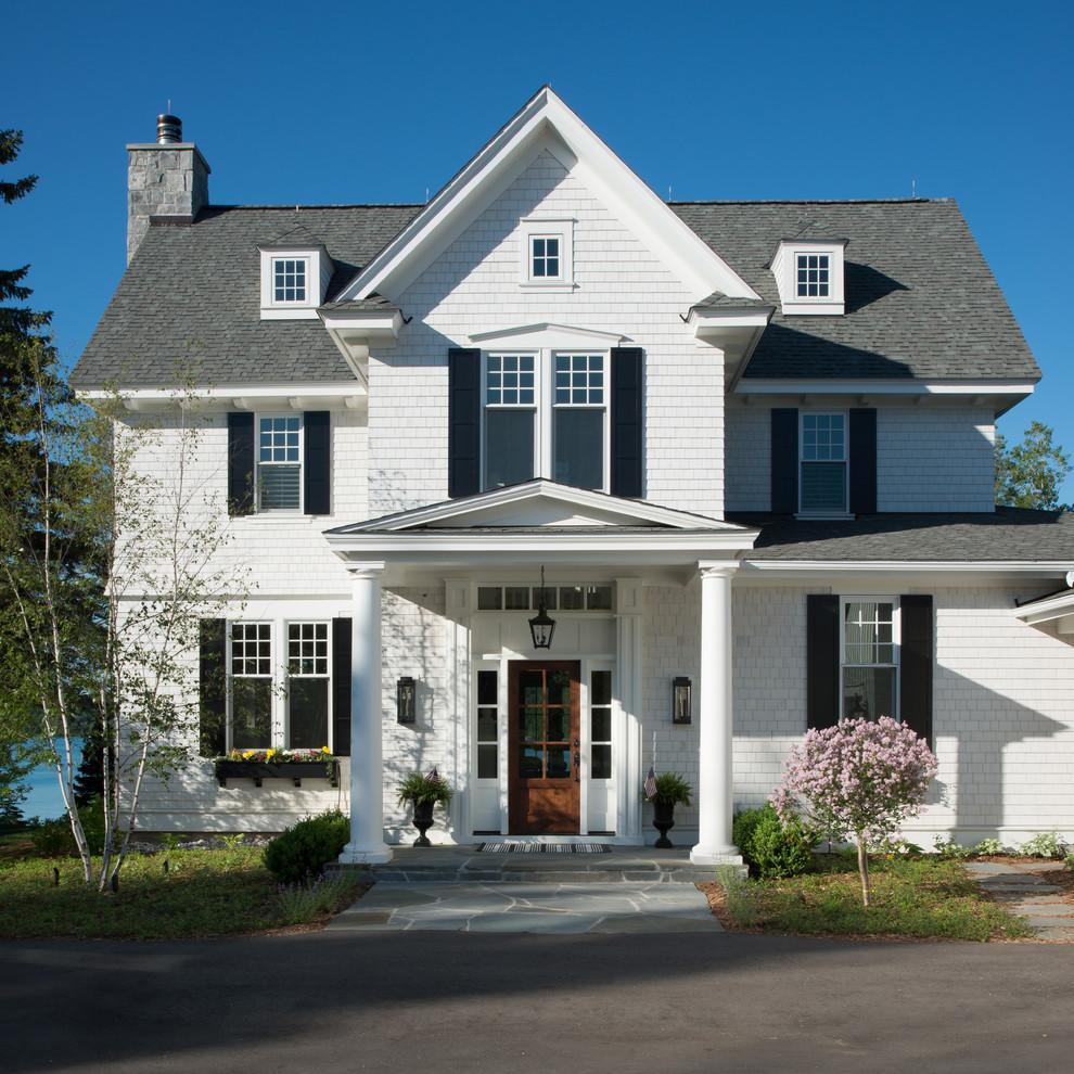 House Colors: Blue Front Door Colors