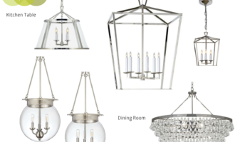 Modern Colonial Interior Light Fixtures