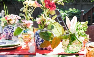 Outdoor Summer Tablescapes