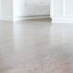 staining hardwood floors a light gray www.homewithkeki.com