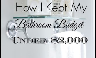 Bathroom Remodel Under $10,000