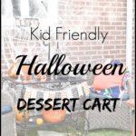 Kids Halloween Dessert Cart