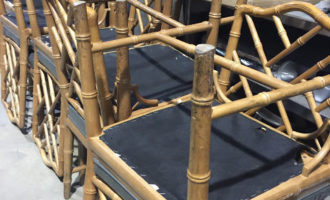 Chippendale Bamboo Dining Chairs
