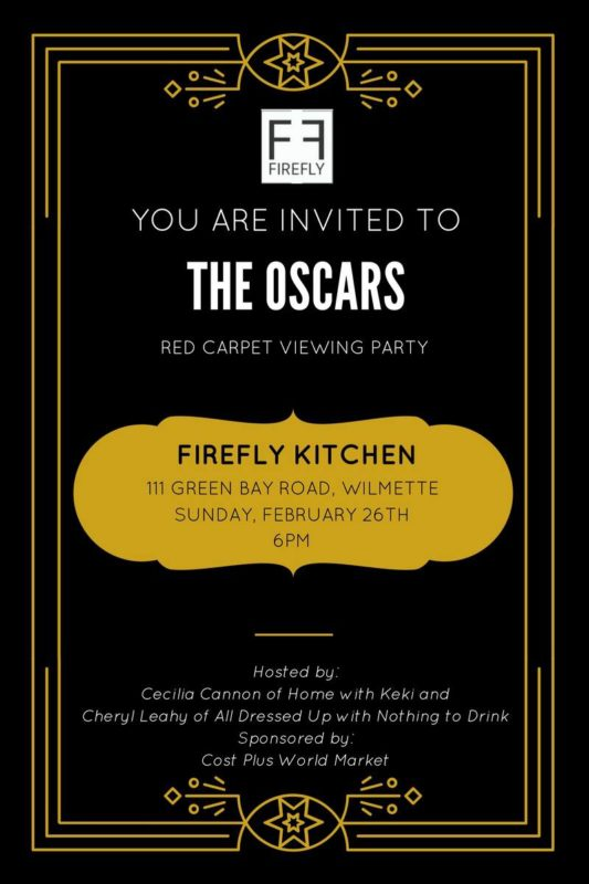 Chicago gals and moms Oscar Party 2017