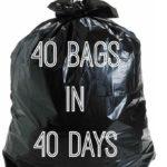 40 Trash Bag Challenge To De-clutter