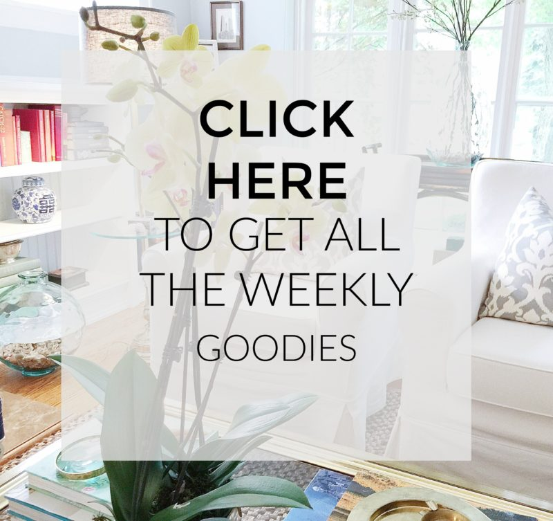 interior design blogger newsletter