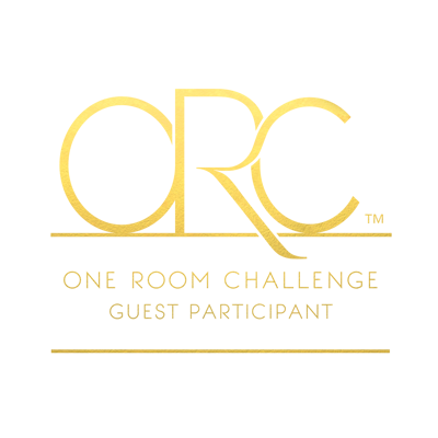 Week one of the One Room Challenge for 2017. 20 design bloggers have 6 weeks to makeover a space.