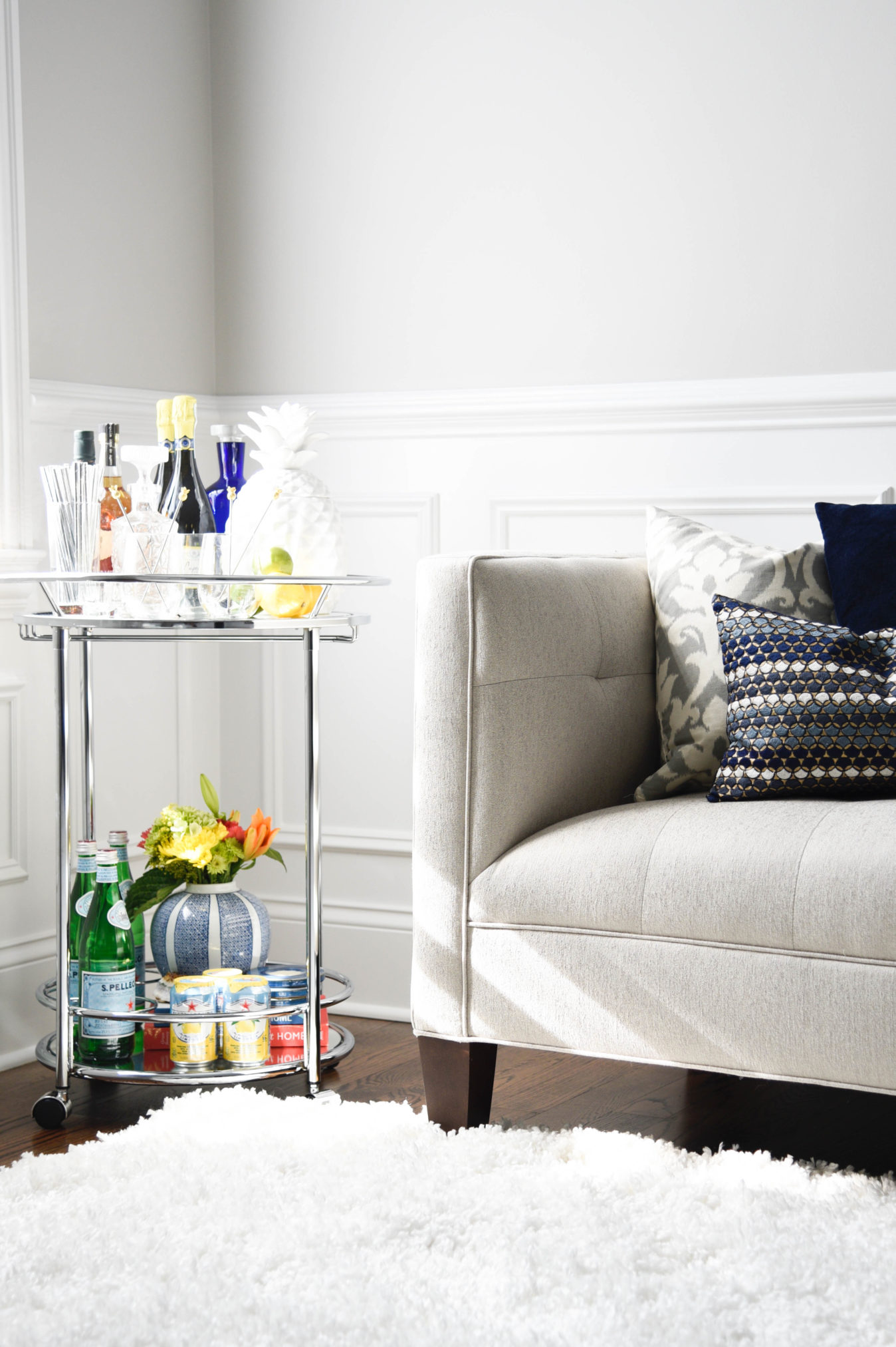 How To Style The Perfect Bar Cart For Any Party Home With Keki