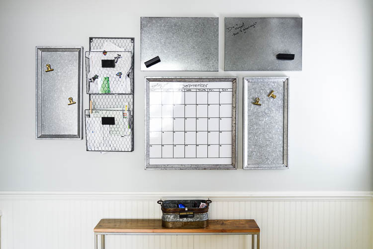 Quick tips to install a mudroom command center with everything you need from Potterybarn. #designtips #mudroom #commandcenter for more visit www.homewithkeki.com