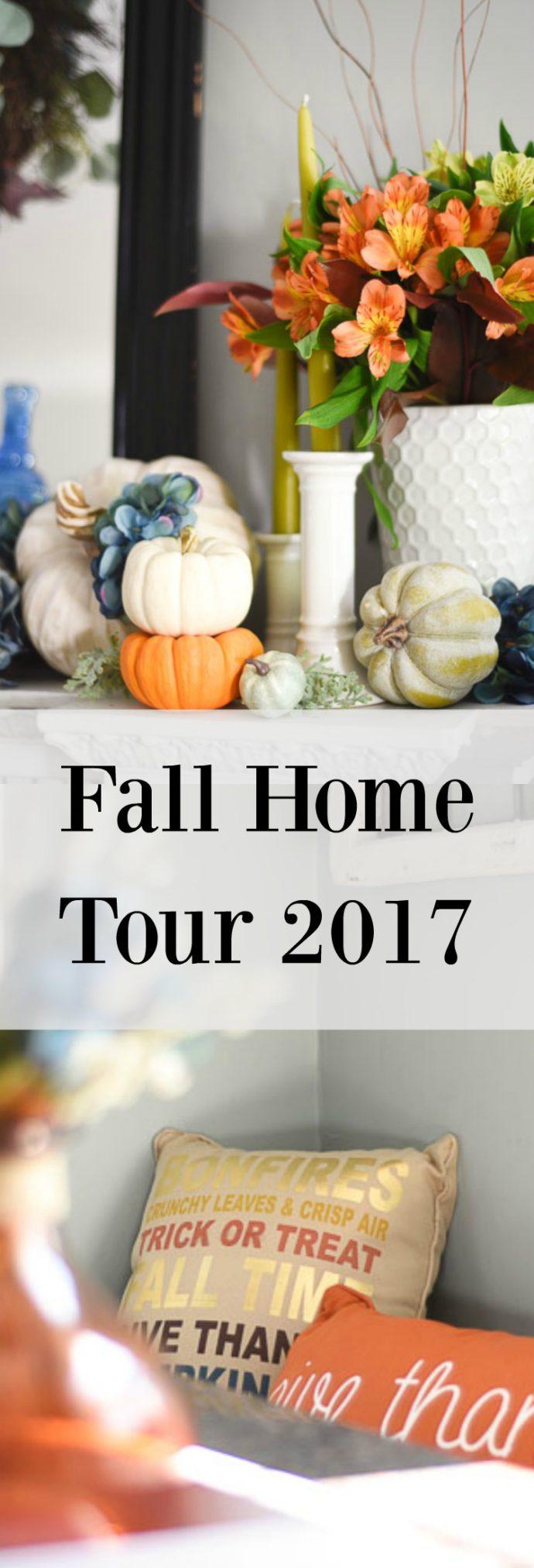 Bloggers Fall Home Tour 2017 Interior design bloggers Fall Home Tour more on the blog www.homewithkeki.com #Falldecor #FallHomeTour #Interiordesignblog