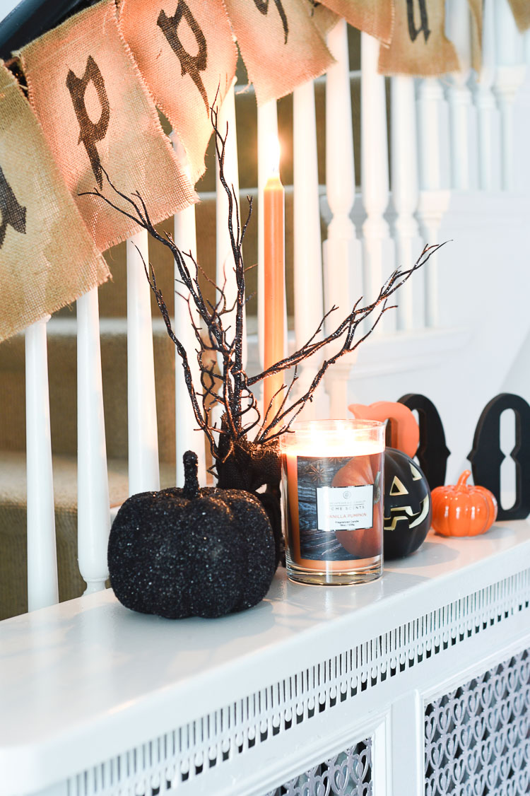 Decorating For Fall With Scented Candles