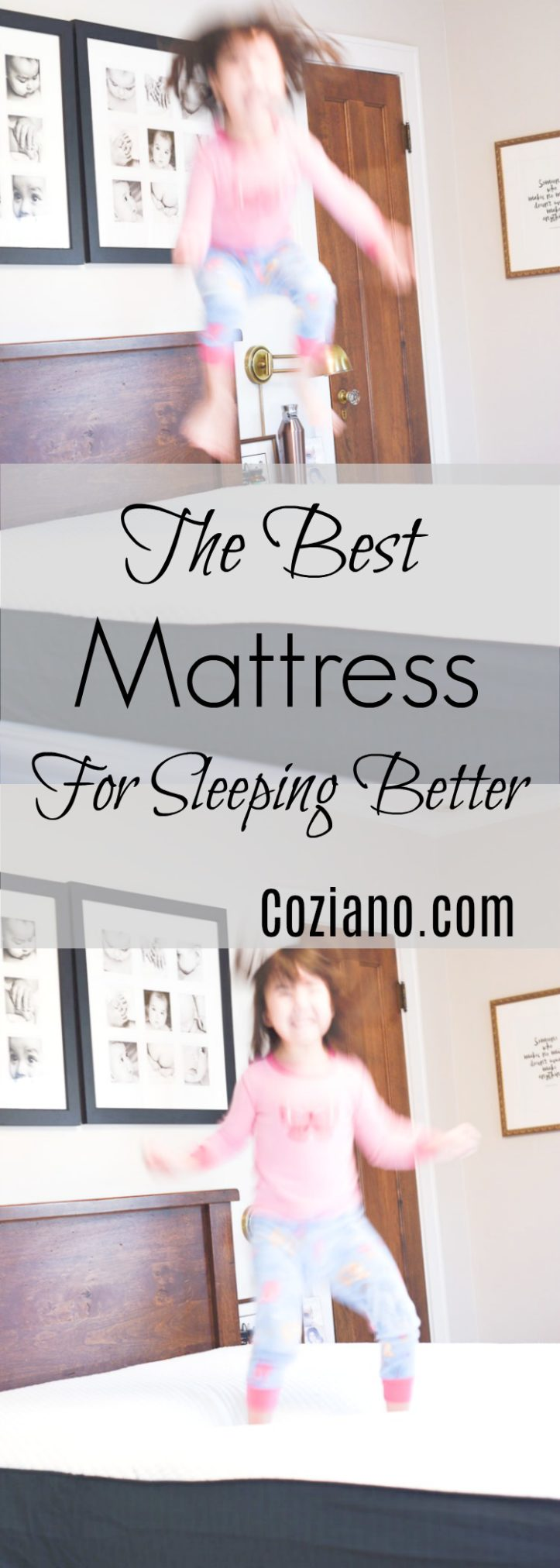 How to pick the right mattress to get better sleep #mattress #ad #sleepingtips at www.homewithkeki.com