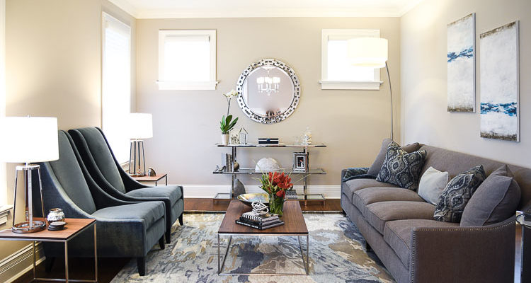 Project Designing A Transitional Living Room