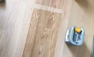 Lake Condo Project: Light Hardwood Flooring