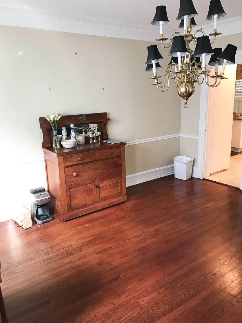 Traditional Burb Project Vintage Colonial Dining Room