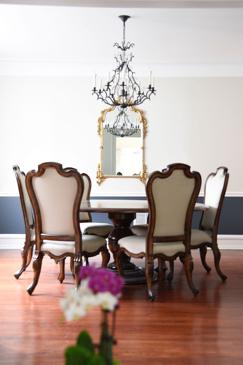 Traditional Burb Project: Vintage Colonial Dining Room
