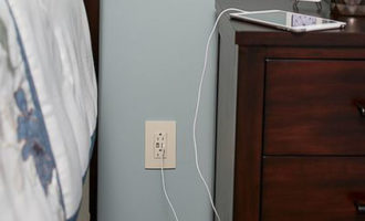 Upgrade To USB Electrical Wall Outlets