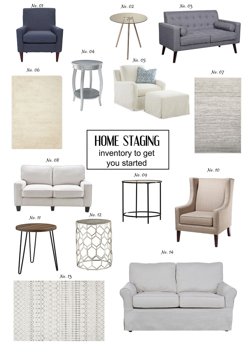 How To Build Your Home Staging Inventory - Home with Keki