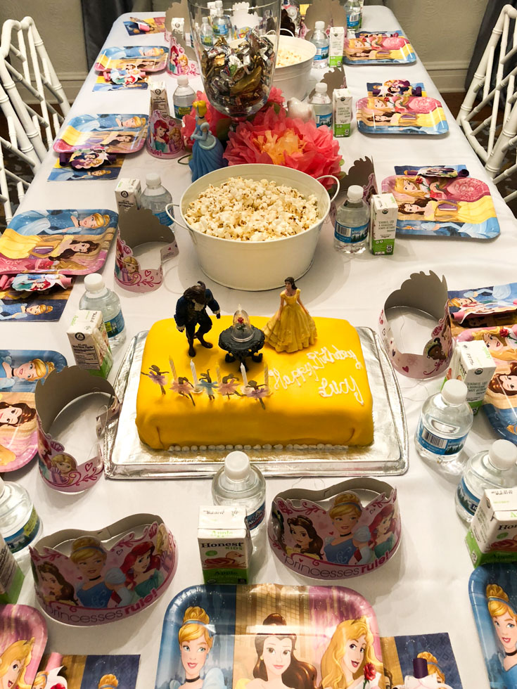 Birthday Party For A 5 Year Old Girl