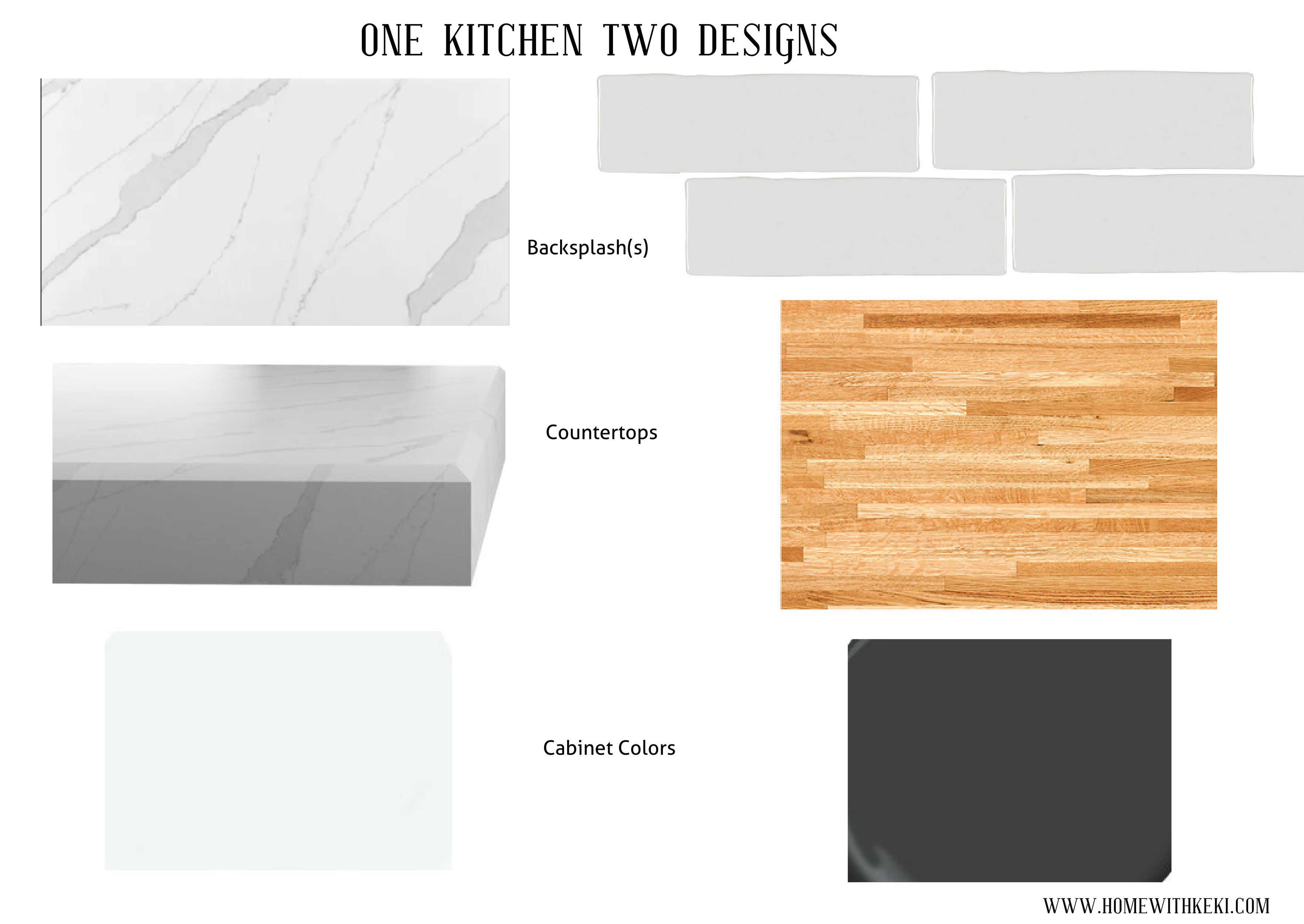 - Butcher Block Backsplash Kitchen - Home With Keki