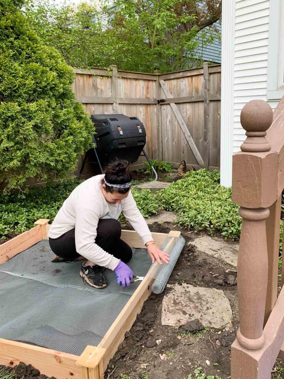 DIY Backyard Vegetable Garden Progress #ANDnotOR - Home ...