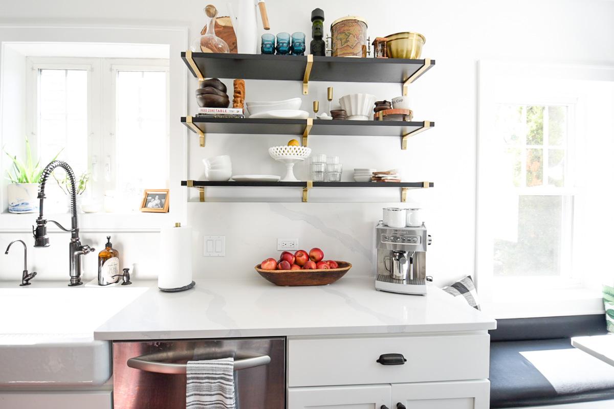 Kitchen Shelf Styling Design Tips Home With Keki